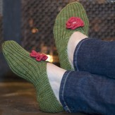 Stick Chick Knits Seamless Slippers PDF