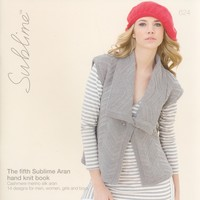 624 The Fifth Sublime Aran Hand Knit Book