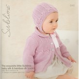 Sublime 648 The Exquisite Little Sublime Baby Silk & Bamboo DK Book