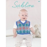 Sublime 696 The Eighteenth Little Sublime Hand Knit Book