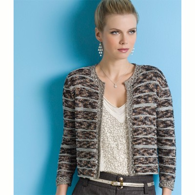 Knitting Pattern Chanel Style Jacket : CHANEL JACKET KNITTING PATTERN FREE - VERY SIMPLE FREE KNITTING PATTERNS