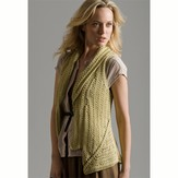 Tahki Yarns Brass Buttons Vest PDF