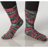 Universal Yarn Painted Feet Socks (Free)