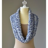 Universal Yarn Rib and Lace Cowl (Free)