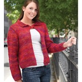 Valley Yarns 001 Rainbow Jacket (Free)