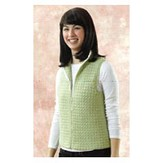 Valley Yarns 144 Sweet Pea Crocheted Vest