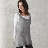 210 Staghorn Cabled Tunic