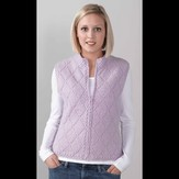 Valley Yarns 228 Quilted Diamond Vest