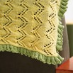 Valley Yarns 299 Cloister Crib Blanket - 299