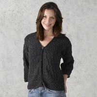 309 Watered Steel Cardigan