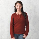 Valley Yarns 332 Rosewood Henley
