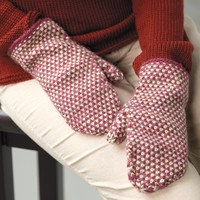 339 Fabric Stitch Mittens