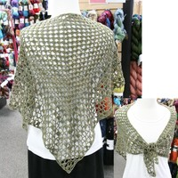 372 Iris Crocheted Shawl (Free)