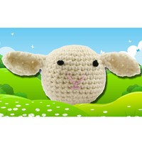 374 Crocheted Lamb (Free)