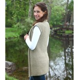 Valley Yarns 390 Grecian Plait Vest