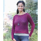 Valley Yarns 428 Bordeaux Pullover