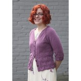 Valley Yarns 466 Hyacinth Cardigan