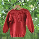 Valley Yarns 482 Copper Penny Child's Pullover