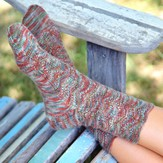 Valley Yarns 490 Pinecone Socks