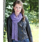 Valley Yarns 506 Crocus Lace Stole