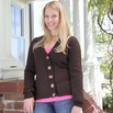 Valley Yarns B9 Basic Set-in Sleeve Cardigan - B9