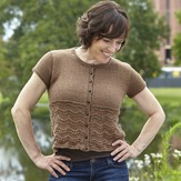 Valley Yarns 669 Light Roast Cardigan