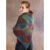 Wisdom Yarns Stained Glass Triangular Shawl (Free)