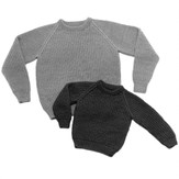 Yankee Knitter Designs 16 English Rib Pullover for Children & Adults